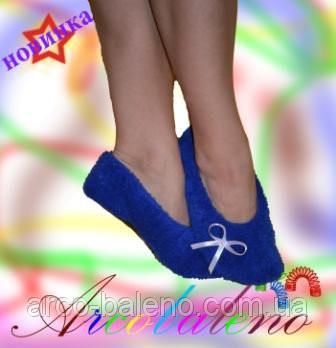 Махрові балетки оптом