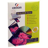 Конверт Canson для CD/ DVD 230г/м кв, A4, 6л (872853)