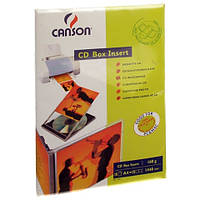 Вкладыш Canson для CD/ DVD 160г/м кв, A4, 15л (872846)