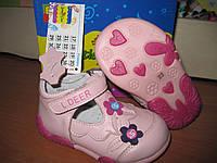 Туфли для девочки B&G 22 р-р арт LD1217-40