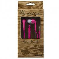 Гарнитура Samsung EO-HS330 Super Bass color розовая