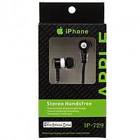 Наушники iPhone IP-729 черные