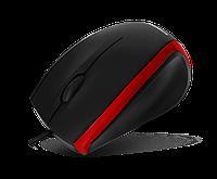 Мышь USB Crown CMM-009 черная с красным