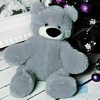 Красивый плюшевый медведь Бублик 55 см (серый), фото 1