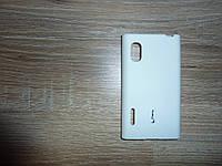 Чехол LG E610 E612 L5 (Cherry) белый