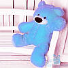 Мягкая игрушка Плюшевый мишка Бублик 70 см (голубой)