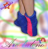 Домашні махрові чобітки оптом, фото 2