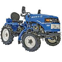 Трактор, Минитрактор Garden Scout T15 c фрезой 120 см + (без плуга)