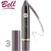 Bell Secretale - Тени-карандаш для век водостойкие Waterproof Stick Тон 03 серая дымка