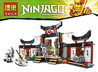 Конструктор Нинзяго Ninja Bela  9734 Школа Ninjago, 377 деталей