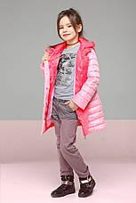 Осенняя куртка длинная на девочку Никса NUI VERY (нью вери)  , фото 2