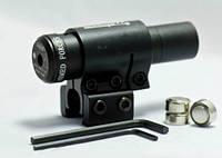 Оптика для оружия. Оптика для пневматики. Лазерный целеуказатель ЛЦУ YH 211, красный луч, 650 нм.