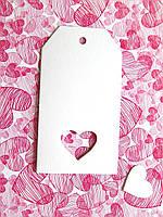 Бирка Собственное производство, С сердцем, фото 1