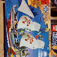 Детский конструктор пиратский корабль 311