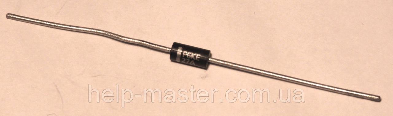 P6KE12A; Защитный диод, (600Вт 12В)