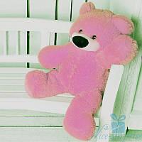 Мягкая игрушка Плюшевый медвежонок Бублик 70 см (розовый), фото 1