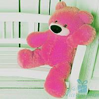 Красивый плюшевый медвежонок Бублик 70 см (ярко-розовый), фото 1