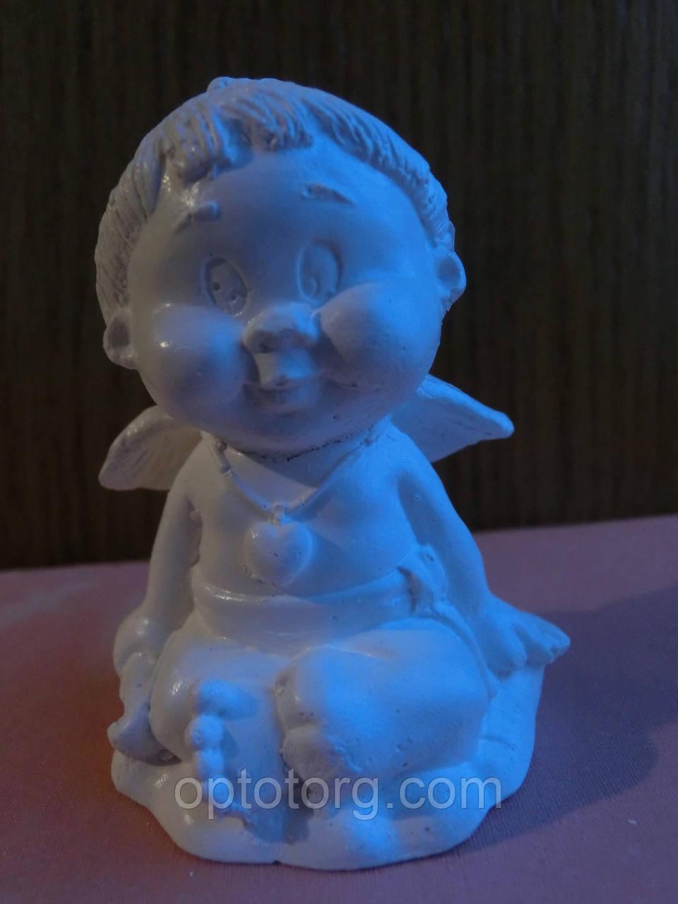 Сувенир статуэтка Ангелочек размер 6*4