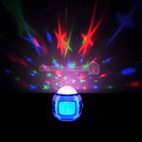 Часы-проектор звездного неба со звуками природы