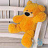 Красива м'яка іграшка Плюшевий ведмедик Бублик 70 см (медовий)