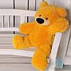 Красивая мягкая игрушка Плюшевый медвежонок Бублик 70 см (медовый)