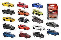 Машинка коллекционная Majorette Premium с карточкой 18 видов 7,5 см (2053052)