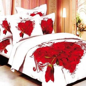 Романтическое постельное белье