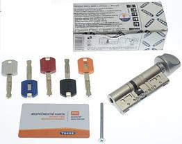 Цилиндр TOKOZ PRO 65 30x35Т (Хром мат.) ключ/тумблер