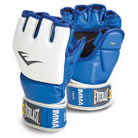 Перчатки для ММА Everlast AMATEUR FIGHT синие(L/XL)