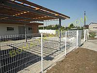 Панельные заборные сетки для дачи