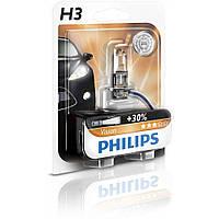 Лампа галогенна Philips H3 Vision, 3200K, 1шт/блістер 12336PRB1