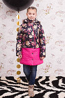 Куртка-трансформер для девочки Роза