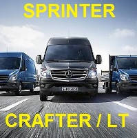Автозапчасти для MB Sprinter, VW Crafter / LT28 / LT35 / LT46