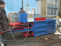 Пресс Горизонтальный 10 тонн - Гидравлический для макулатуры и пластика, ПЭТ тары