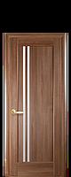 Двери межкомнатные  ДЕЛЛИТА СО СТЕКЛОМ САТИН(ПВХ DeLuxe)
