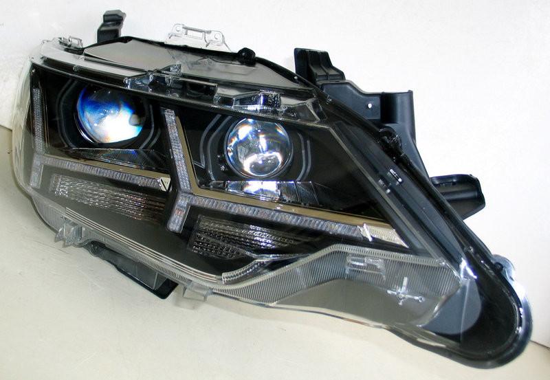 Передние Toyota Сamry V55 альтернативная тюнинг оптика фары тюнинг-опт
