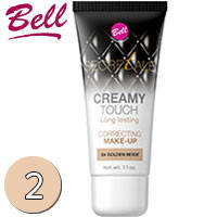 Bell Secretale Флюид маскирующий несовершенства кожи Creamy Touch 30ml Тон 02 sand beige