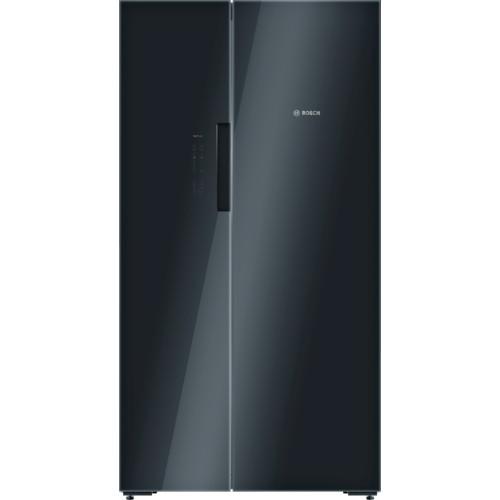 Холодильник side by side с морозильником черный Bosch KAN92LB35