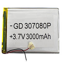 Внутренний Аккумулятор 03*70*80 (3000 mAh 3,7V) AAA класс