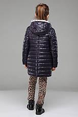 Осенняя куртка длинная на девочку Никса NUI VERY (нью вери)  , фото 3