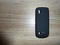 Чехол накладка для телефона Nokia 300 Moshi черный