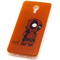 Чехол силиконовый Deadpool для Meizu M3 Note