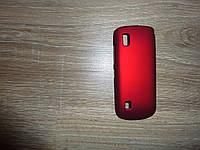 Чехол накладка для телефона Nokia 300 Moshi темно-красный