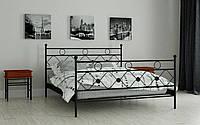 Кровать двухспальная металлическая Бриана