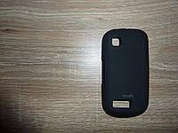 Чехол накладка для телефона Nokia 200 Moshi черный