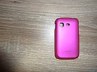 Чехол накладка для телефона Samsung S5300 Galaxy Pocket розовый (Moshi)