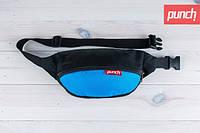 Поясная сумка Punch, чёрно-синий, фото 1