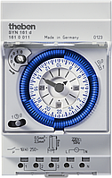 Реле часу SYN 151 h установка часу сегментами, монтаж DIN-рейка
