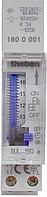 Реле часу SYN 160 a установка часу сегментами, монтаж DIN-рейка