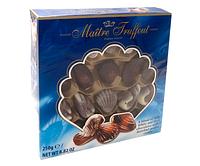 Шоколадные конфеты Maître Truffout Ракушки Ассорти 250 г.